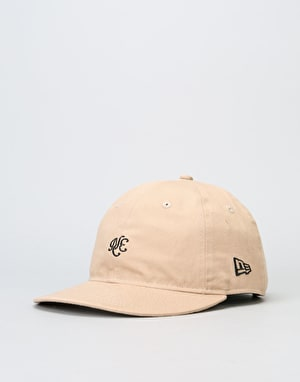 New Era 9Fifty Unstructured Strapback Cap - Camel