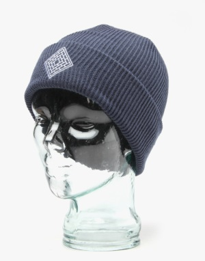 The National Skateboard Co. Logo Beanie - Navy