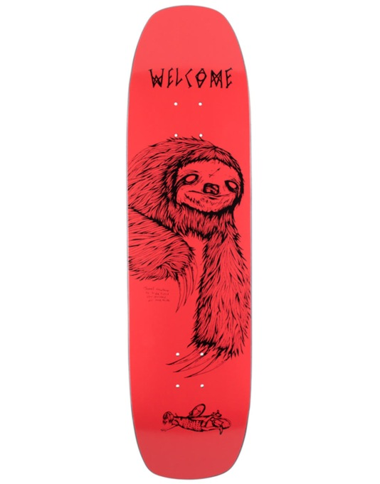 Welcome Sloth on Wormtail Team Deck - 8.4""