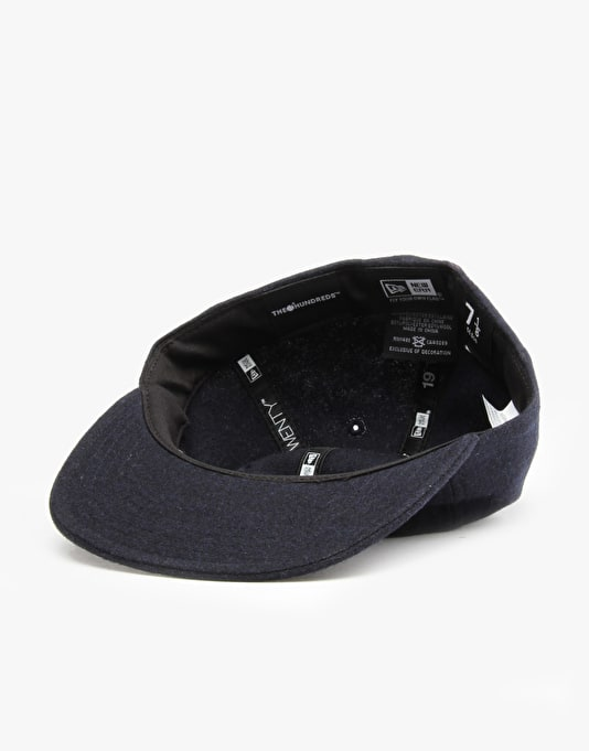 The Hundreds Many Fitted Cap - Navy
