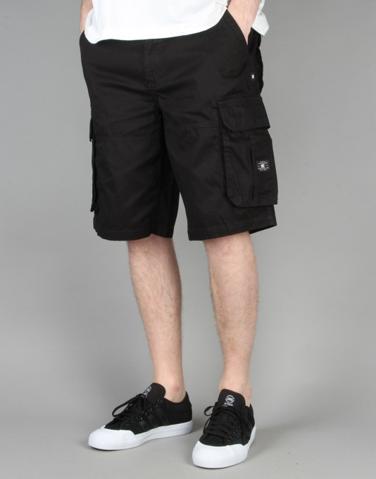 DC Wastinghouse Cargo Shorts - Black