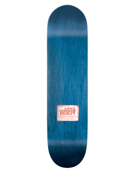 Girl x LA8 x The Art Dump Kennedy SM Triple Set Pro Deck - 8""