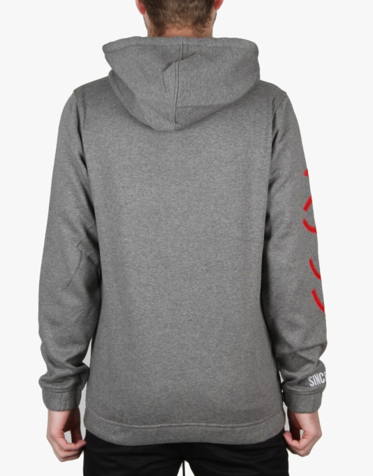 The Hundreds Pass Pullover Hoodie - Athletic Heather
