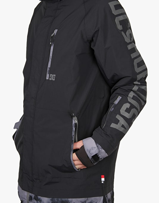DC Ripley 2016 Snowboard Jacket - Anthracite