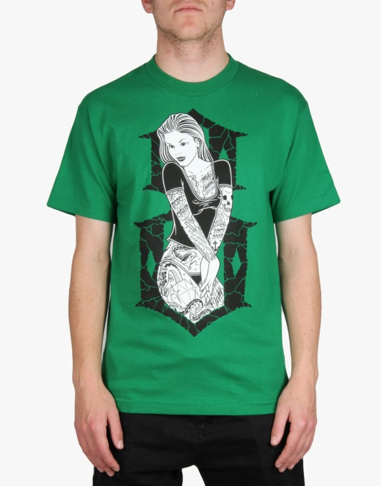 Rebel8 6th Street T-Shirt - Green