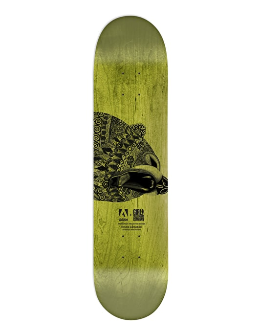 Girl x Emma Campbell Koston #MADETHIS Pro Deck - 8.25""