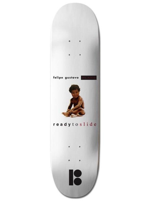 Plan B Felipe Notorious BLK ICE Pro Deck - 8.125""