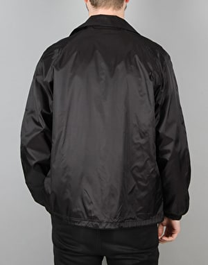 Pizza Fizza Coaches Jacket - Black