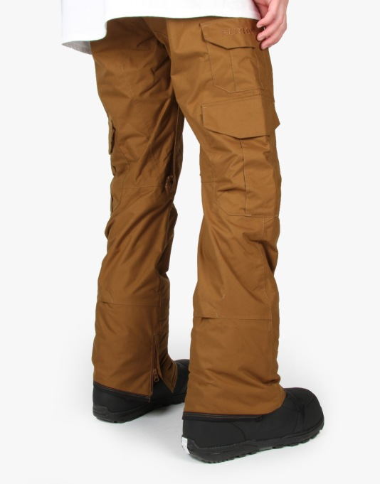 Burton Cargo Mid Fit 2016 Snowboard Pants - Beaver Tail