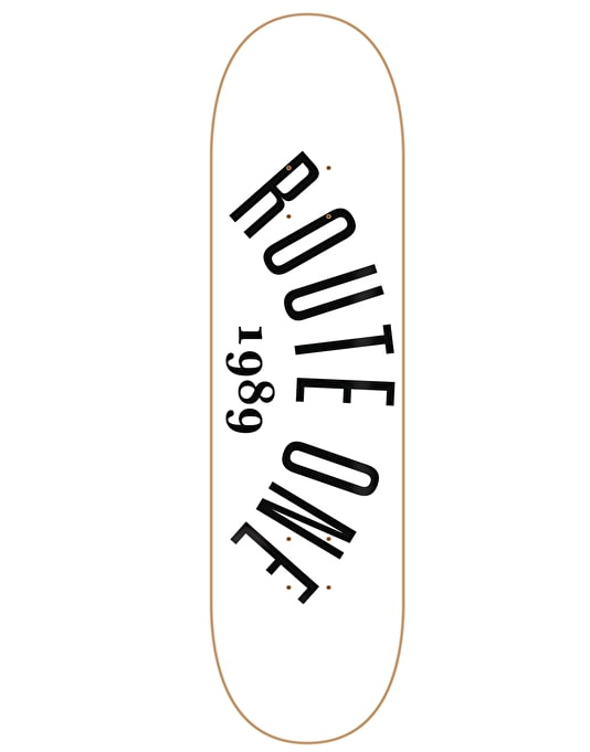 Route One Arch Logo Team Deck - 8.5""
