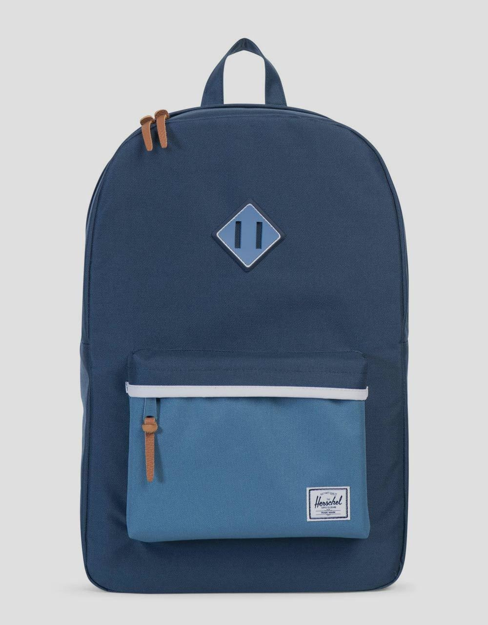 Herschel Supply Co. Heritage Backpack - Navy Captains Blue White ... a4dae2d27a220