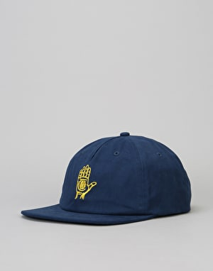 Theories Hand Of Theories Snapback Cap - Navy/Pollen