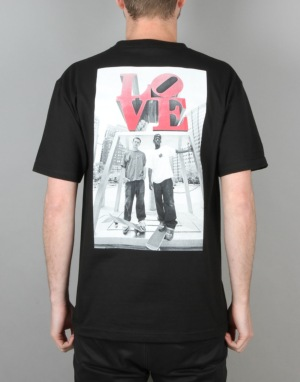 DGK x Mike Blabac Love Park '99 T-Shirt - Black