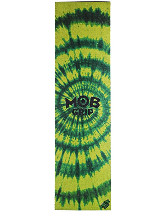 "MOB Tie Dye 9"" Graphic Grip Tape Sheet - Green/Green"