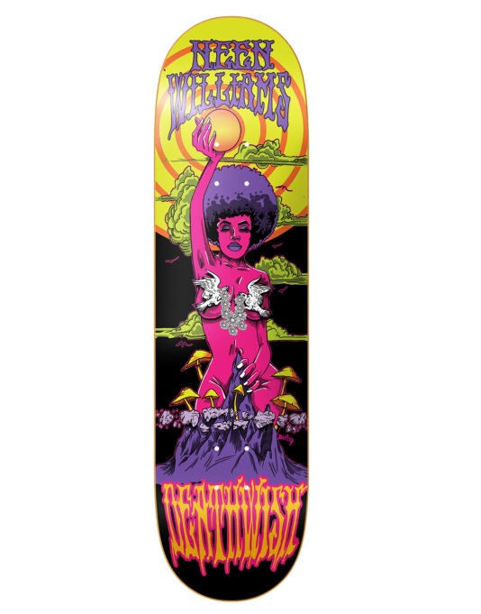 Deathwish Neen Blacklight Pro Deck - 8""