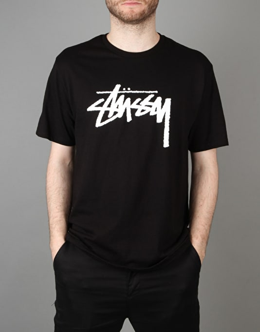 Stüssy Stock T-Shirt - Black