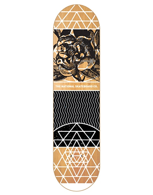 The National Skateboard Co. Universal Y Team Deck - 8.125""