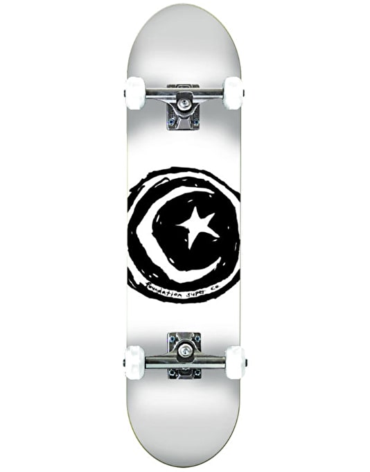 Foundation Star & Moon Complete Skateboard - 8.25""