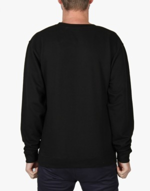 Enjoi Gangsterish Crew Sweatshirt - Black