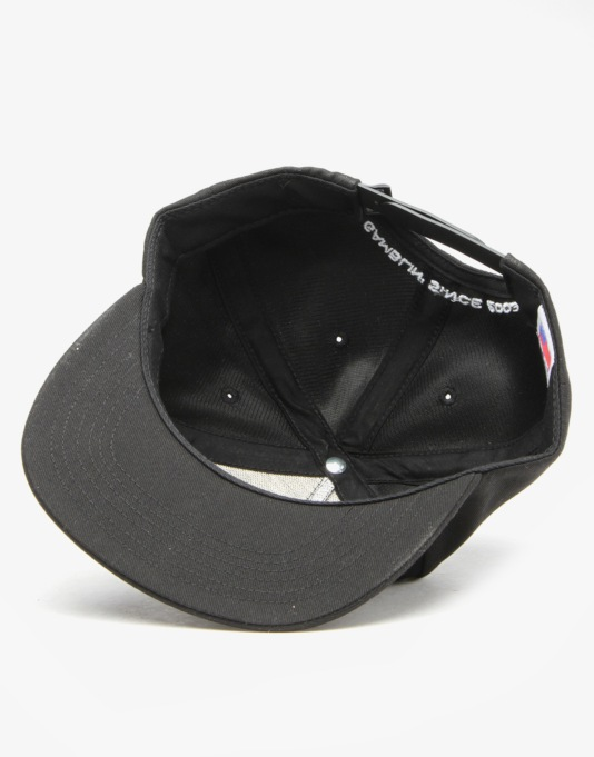 Rebel8 Wildcard Snapback Cap - Black