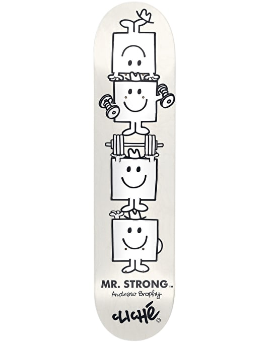 Cliché x Mr. Men Brophy Paint Pen Pro Deck - 8""