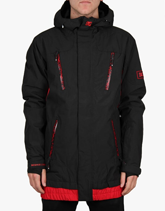 DC Torstein Corruption 2016 Snowboard Jacket - Anthracite
