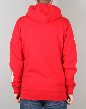 Thrasher Boxed Logo Hoodie - Red