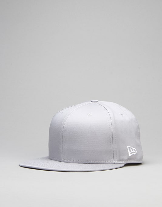 New Era Cotton Snap 9Fifty Snapback Cap - Grey