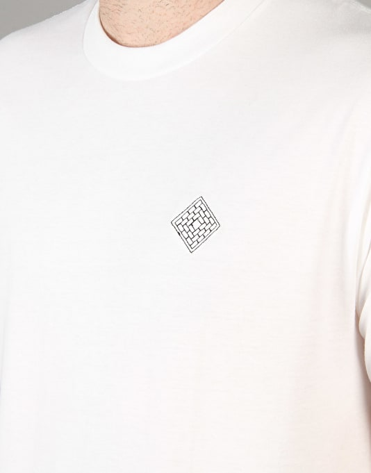 The National Skateboard Co. Embroidered T-Shirt - White