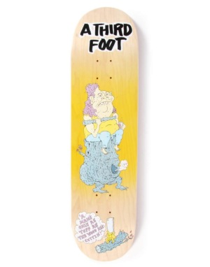 A Third Foot Log Bog Team Deck - 8.25
