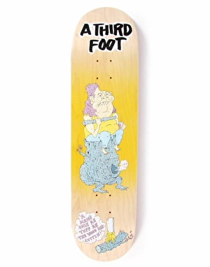 A Third Foot Log Bog Team Deck - 8.375