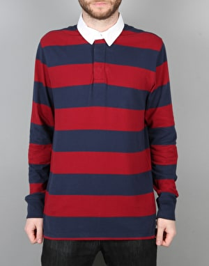 Vans Blocked Out Rugby Shirt - Dress Blues