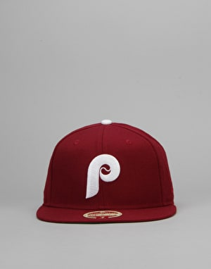 New Era MLB Philadelphia Phillies 1980 Heritage 59Fifty Fitted Cap