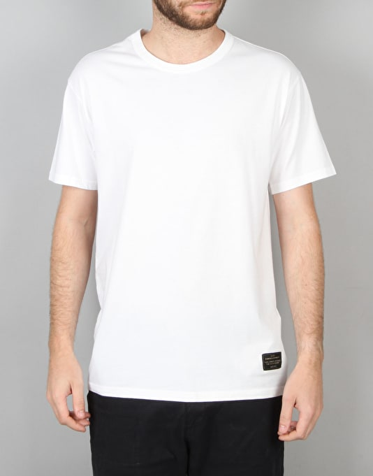 Levi's Skateboarding 2 Pack T-Shirts - White/Jet Black