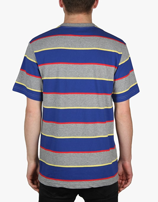 The Hundreds Borage T-Shirt - Athletic Heather/Blue