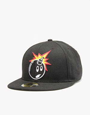 The Hundreds Forever Adam Fitted Cap - Black