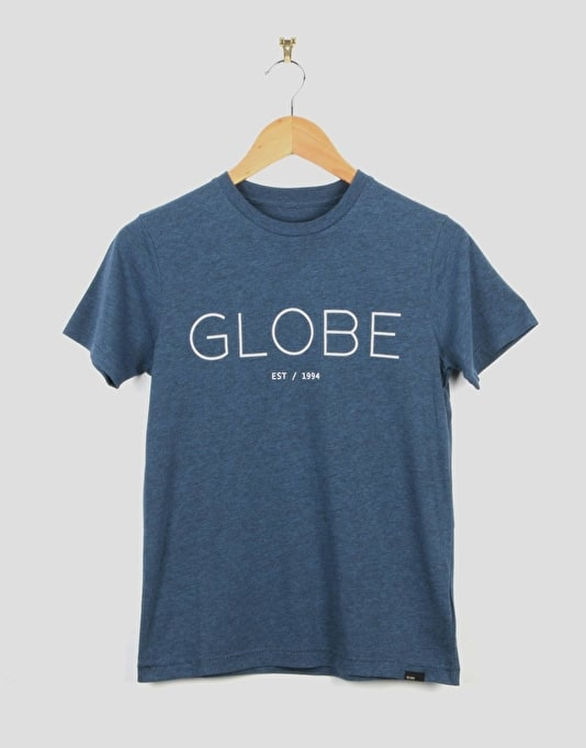 Globe Phase Boys T-Shirt - Marine Heather