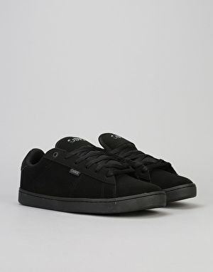 DVS Revival 2 Skate Shoes - Black/Black Nubuck