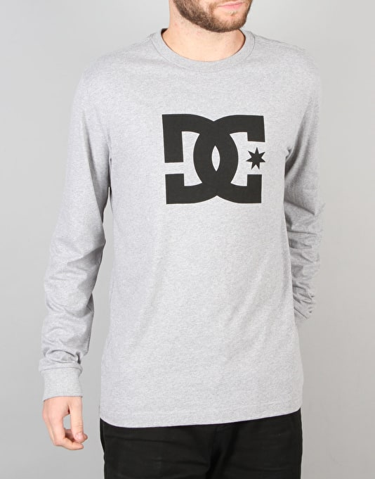 DC Star L/S T-Shirt - Heather Grey