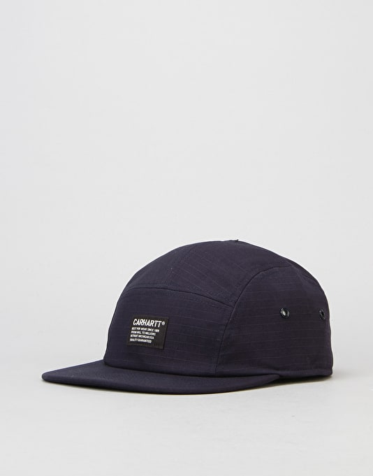 Carhartt Hill Starter 5 Panel Cap - Navy