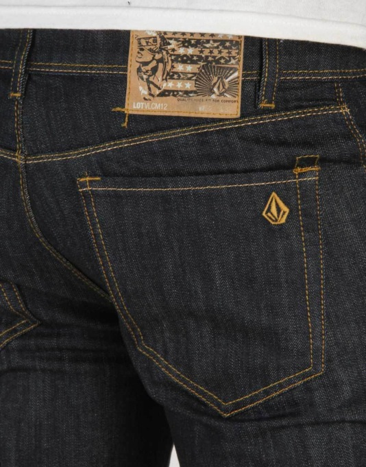 Volcom Chilli Chocker Denim Jeans - Blue