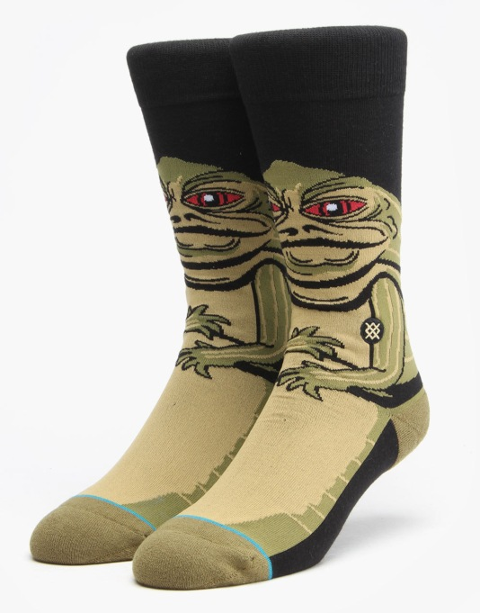 Stance x Star Wars Jabba Socks - Green