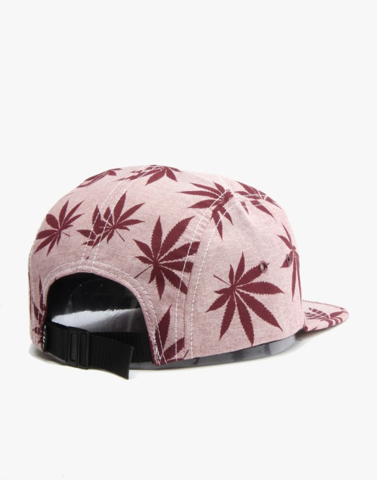HUF Plantlife Volley 5 Panel Cap - Red