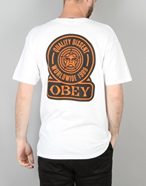 Obey Quality Dissent T-Shirt - White