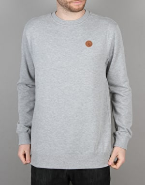 Volcom Single Stone Crew - Heather Grey