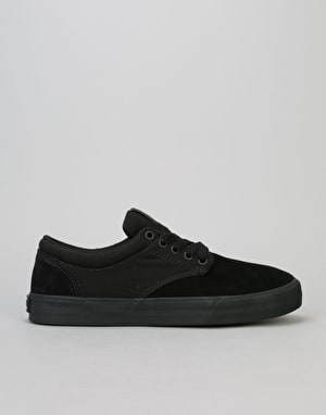 Supra Chino Skate Shoes - Black/Black