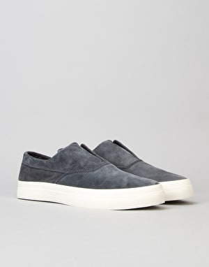 HUF Dylan Slip On Pro Skate Shoes - Dark Navy