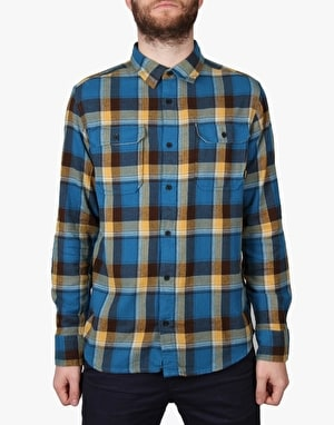 Burton Brighton Flannel Shirt - Glacier Blue Impulse