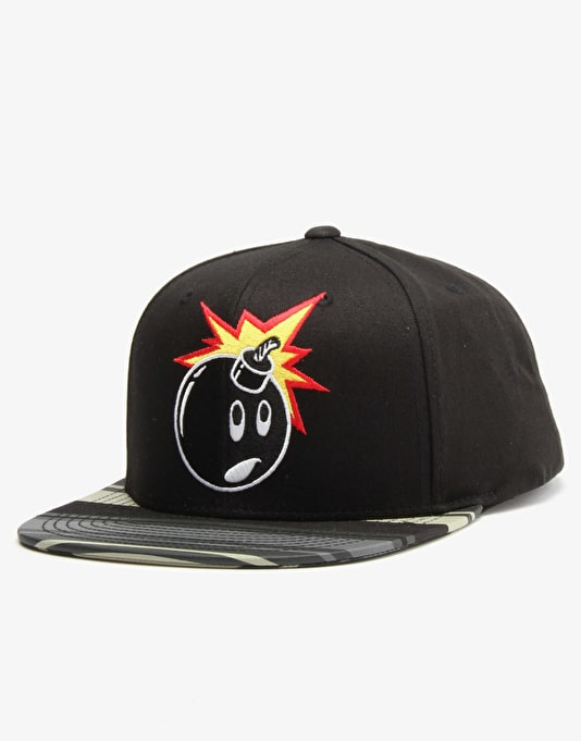 The Hundreds Adam Snapback Cap - Black