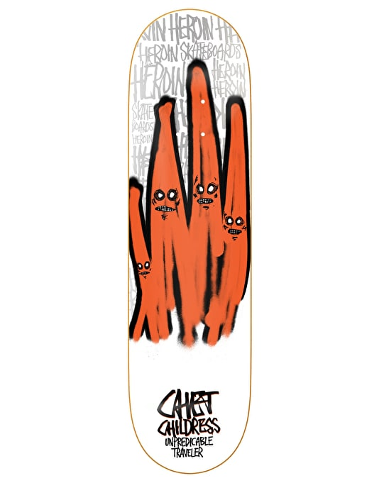 Heroin Childress Ghosts Pro Deck - 8.5""